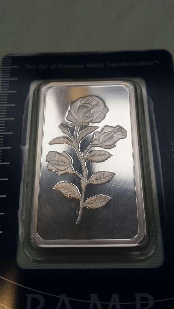 Imagen producto Flor PAMP suisse onza troy plata 999  2