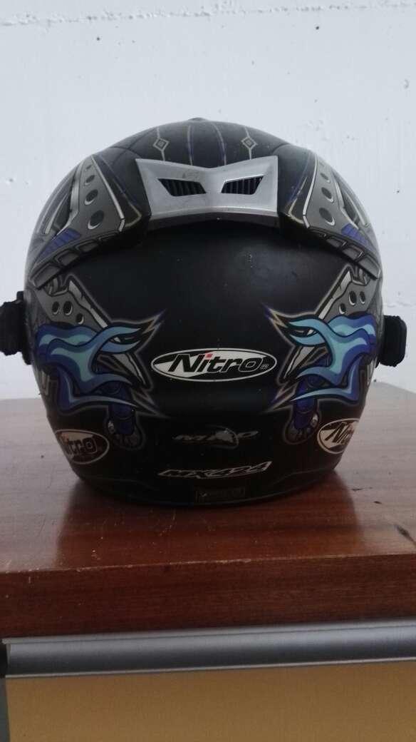 Imagen producto Casco nitro+gafas+quick strap 5