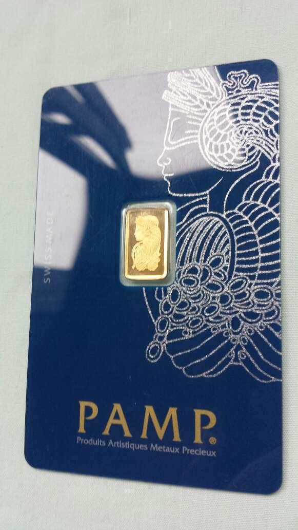 Imagen Oro puro 999 PAMP suisse 1 gramo