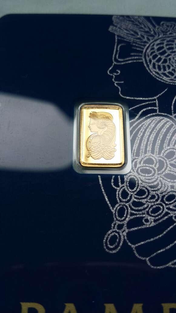 Imagen producto Oro puro 999 PAMP suisse 1 gramo  2