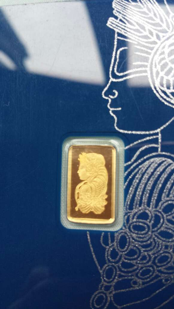 Imagen producto Oro puro 999 PAMP suisse 1 gramo  3