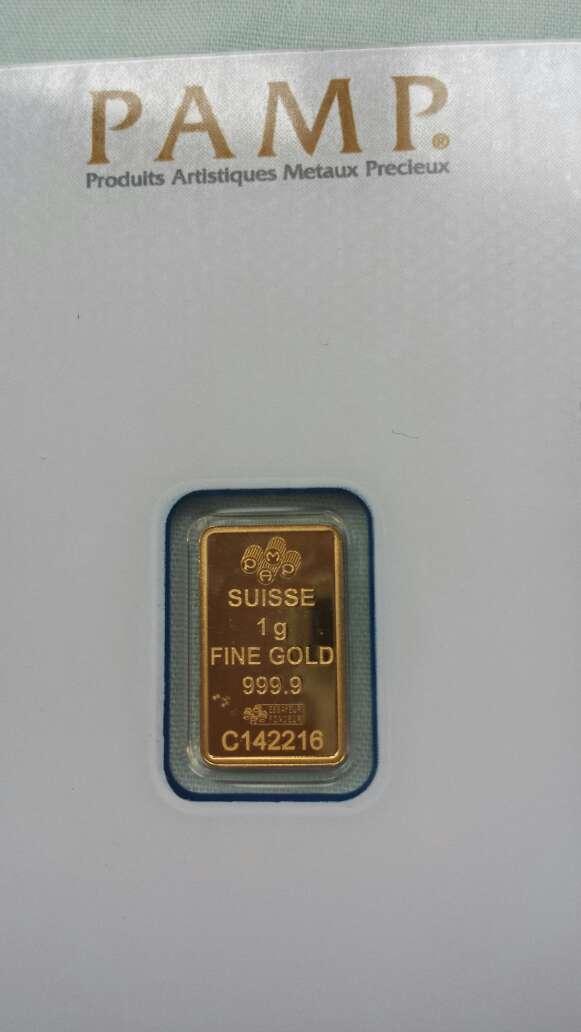 Imagen producto Oro puro 999 PAMP suisse 1 gramo  5