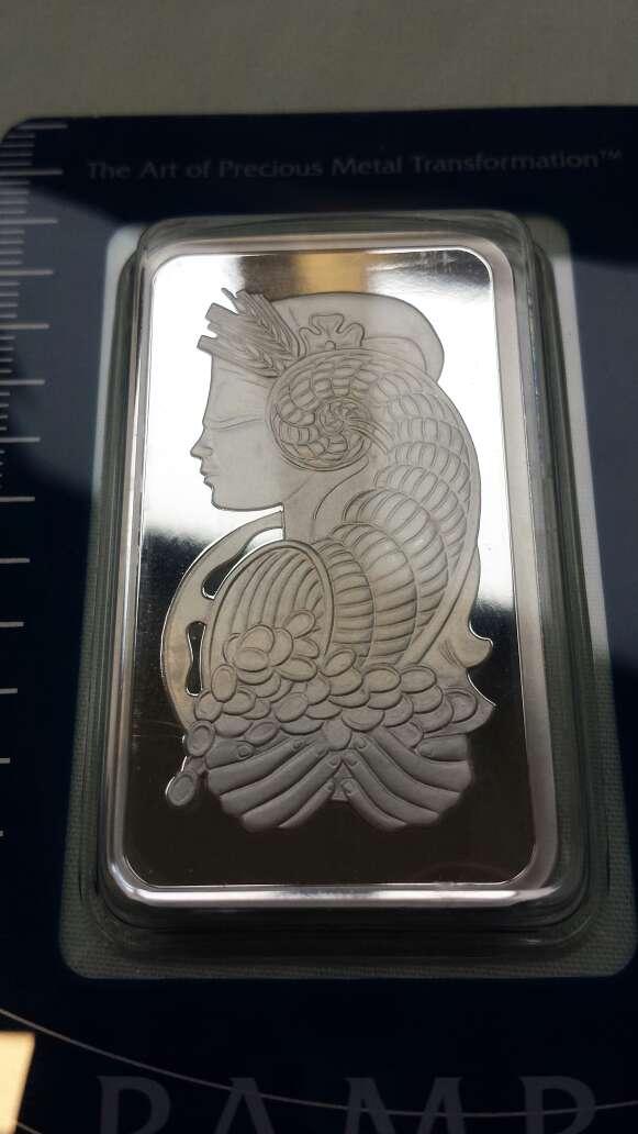 Imagen producto Lingotes de plata pura 999 PAMP SUISSE ( 3 lingotes de 1 onza troy ) 10