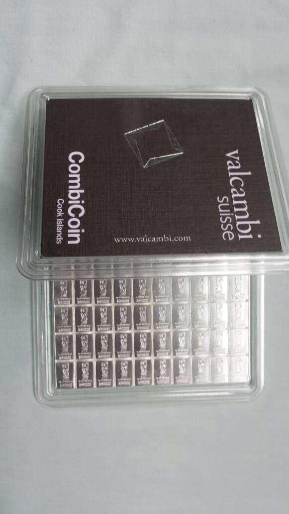 Imagen 100 gramos plata pura 999 valcambi