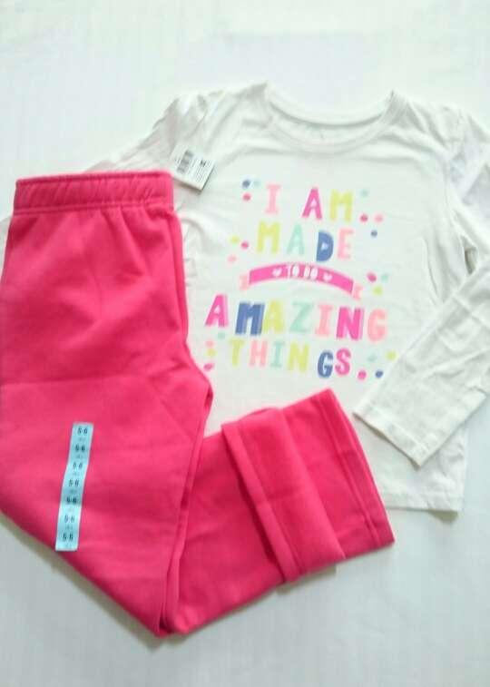 Imagen producto Nuevo Pantalón Chándal niña Y Regalo camiseta  3