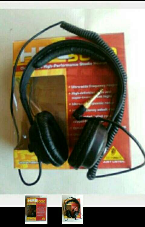 Imagen producto Auriculares Behringer. 2