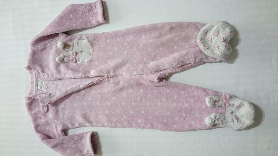 Imagen producto Pijama pelele de peluche  1