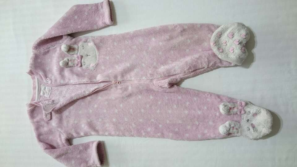 Imagen Pijama pelele de peluche