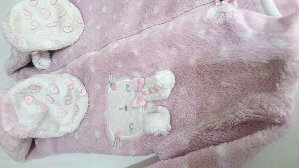 Imagen producto Pijama pelele de peluche  4
