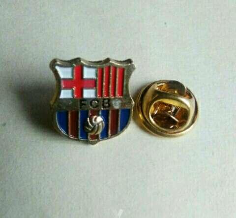 Imagen producto Pin del Barça chapado original antiguo. 2