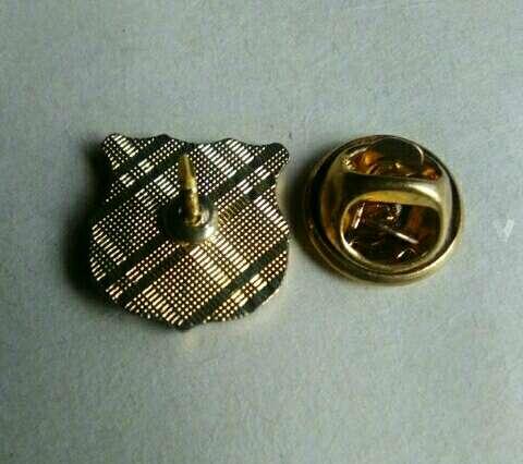 Imagen producto Pin del Barça chapado original antiguo. 3