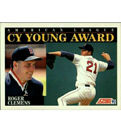 Imagen producto Rogers Clemens Baseball cromo/cards. 1