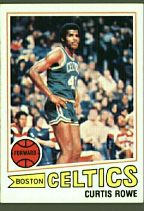 Imagen producto Curtis Rowe card #3 1977-78.  1