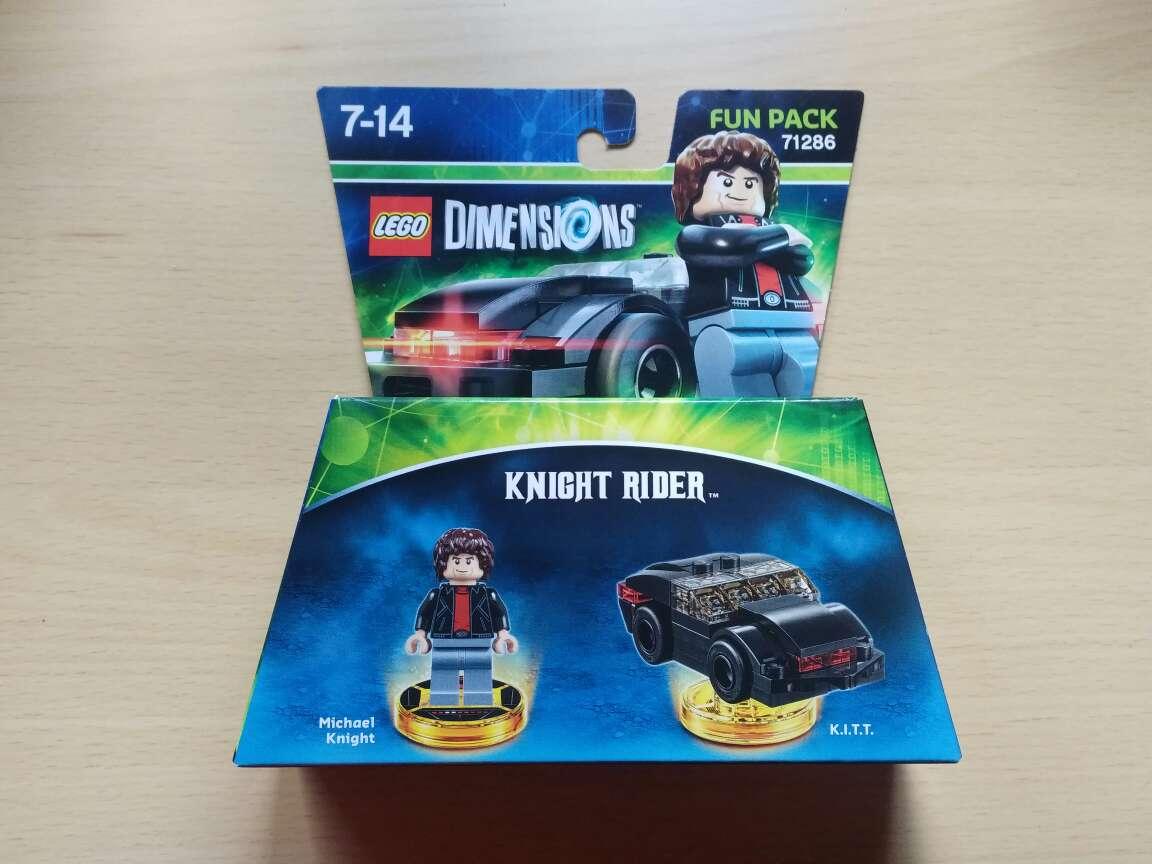 Imagen Lego Dimensions, Knight Rider, nuevo