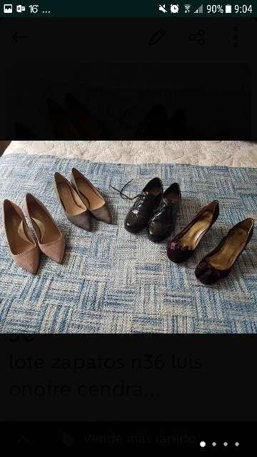 Imagen lote zapatos n37