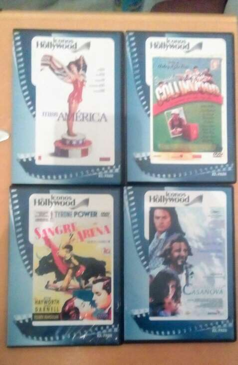 Imagen vendo películas DVD