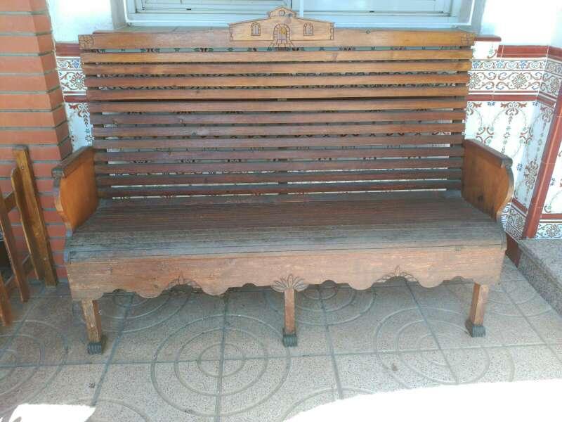 Imagen producto Banco madera 2