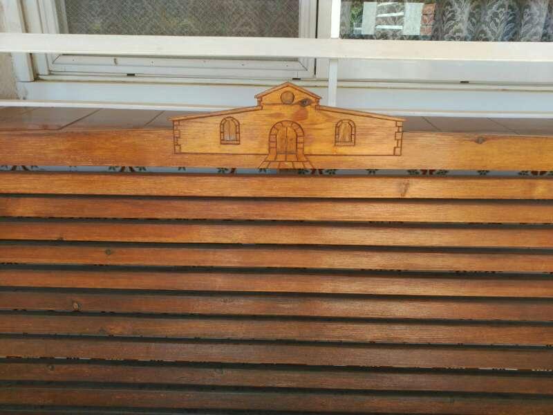 Imagen banco madera