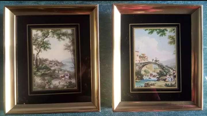 Imagen producto Cuadros vintage dorados 3
