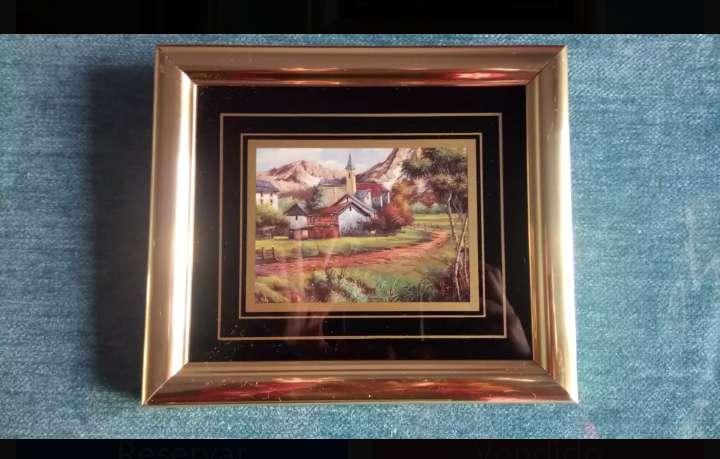 Imagen producto Cuadros vintage dorados 4