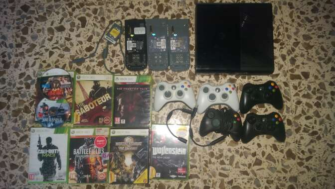 Imagen Xbox 360 con 100 juegazos