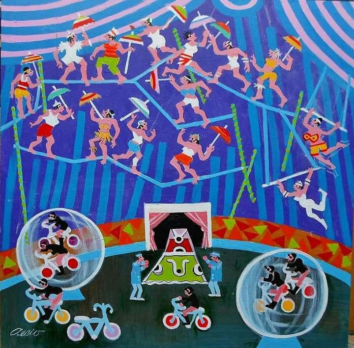 Imagen Aécio tem o circo medida 60x60