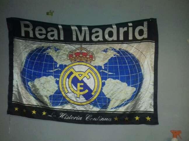 Imagen bandera real Madrid
