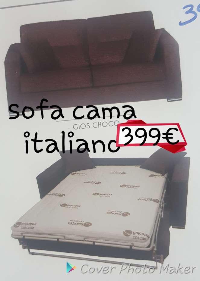Imagen sofa cama italiano con colchon