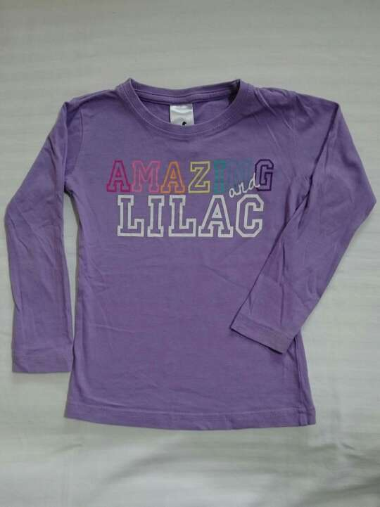 Imagen Camiseta lila niña