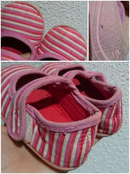 Imagen producto Sandalias merceditas rosas  4