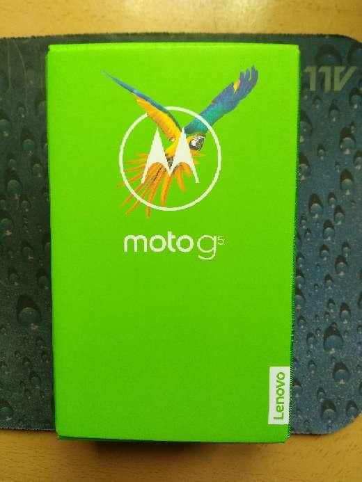Imagen HURGEEE!! Motorola moto g5 3gb 16 gb nuevo