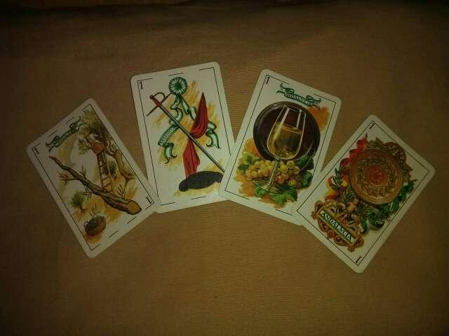 Imagen producto Baraja de cartas Andaluza. Heraclio fournier. 1979 2
