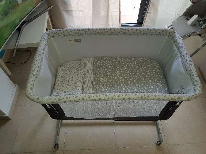Imagen producto Minicuna Colecho Jane BABYSIDE 2
