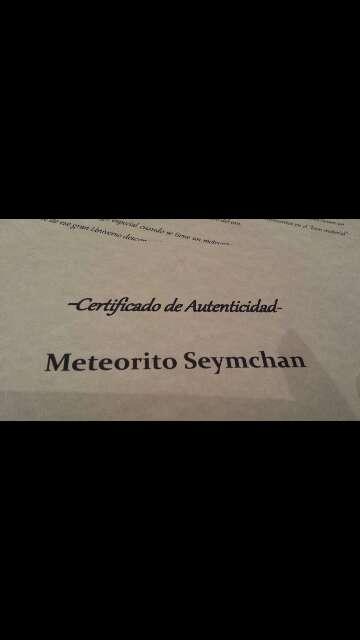 Imagen producto Meteorito Palasita seymchan con olivinos  5