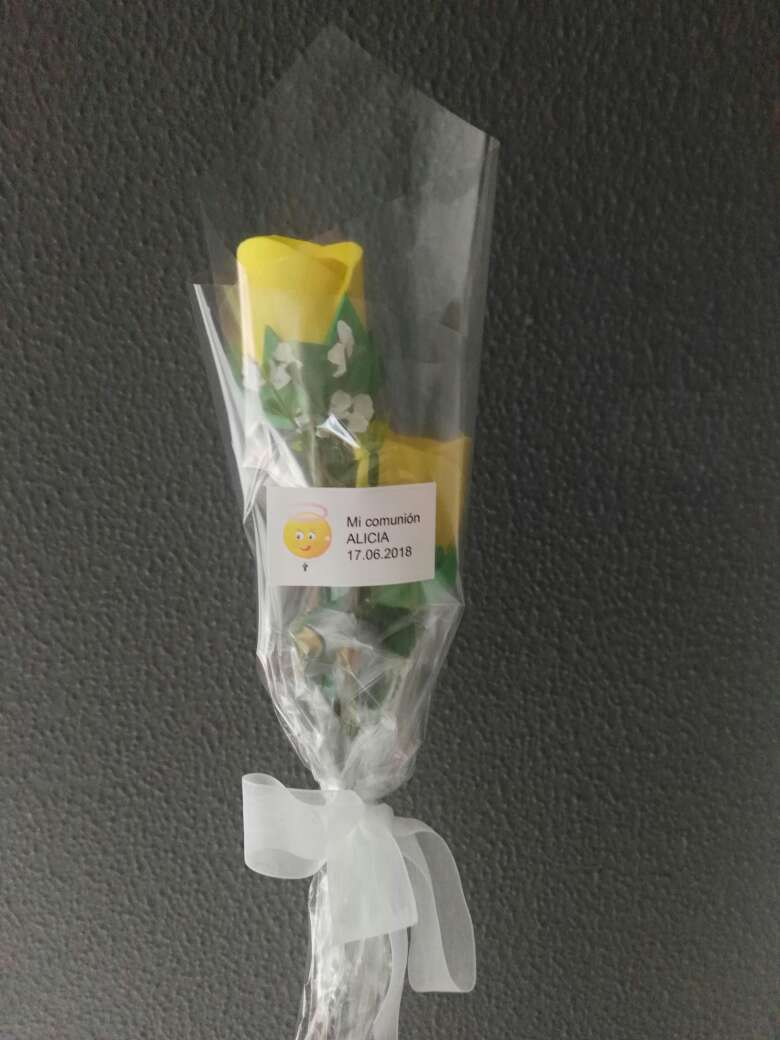 Imagen producto Flores de goma eva perfumadas 3