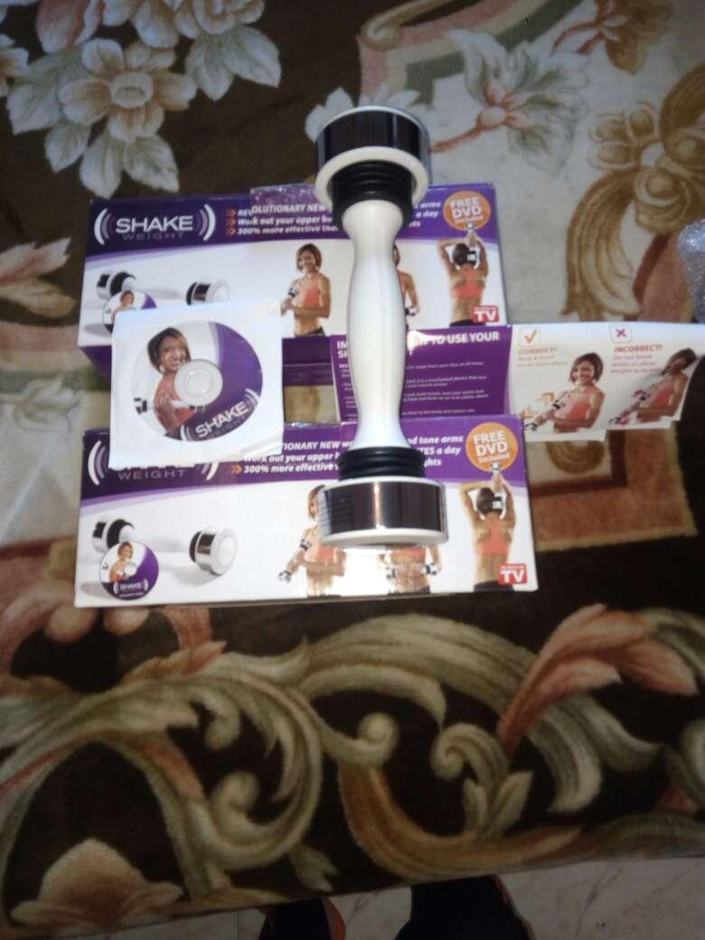 Imagen producto 2: mancuernas pesa vibratoria shake weight doy