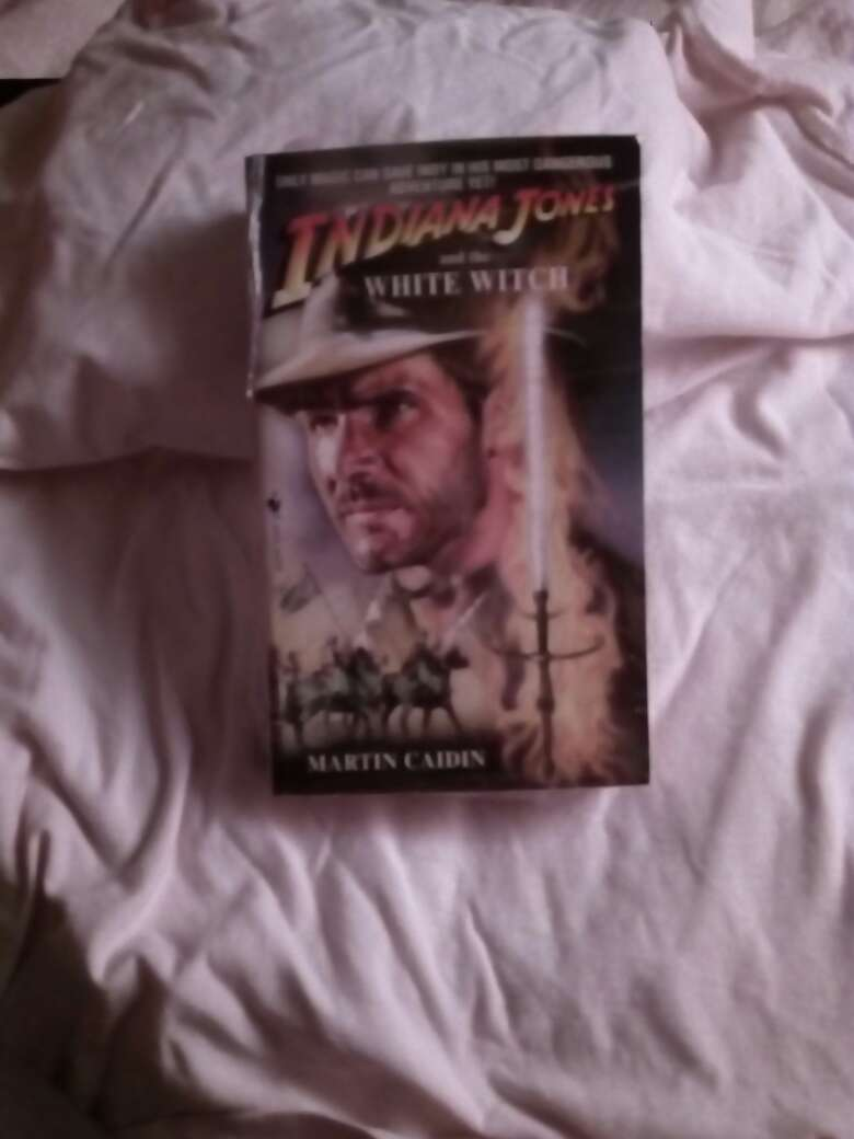 Imagen Libro de indiana jones and the white witch