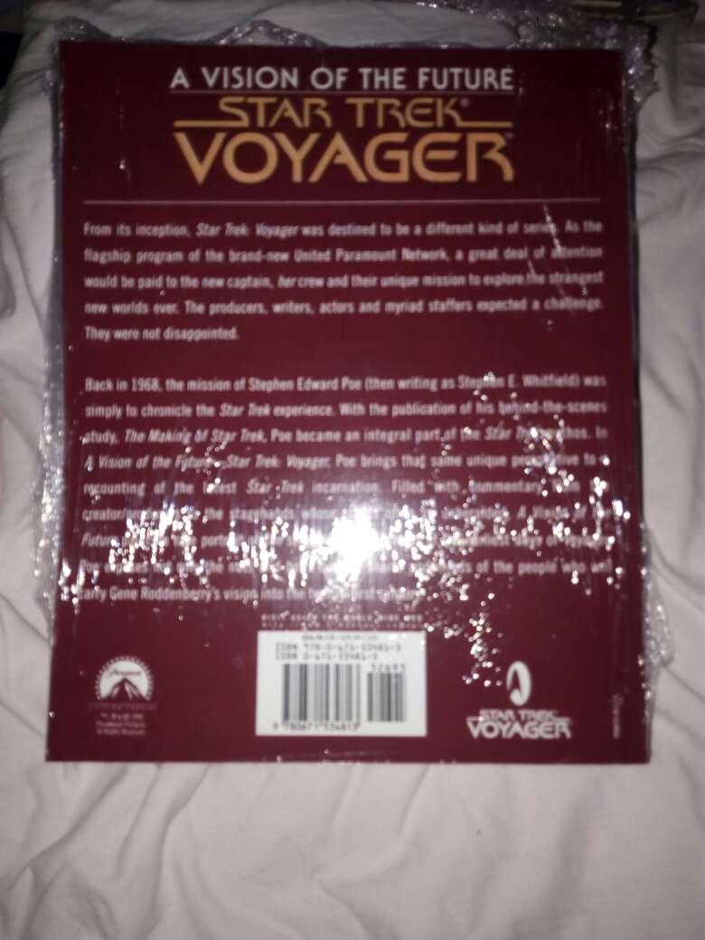 Imagen producto Libro de star trek voyager 2