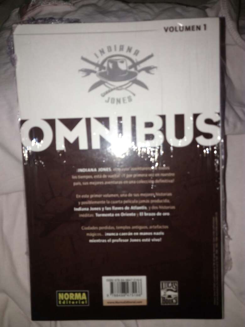Imagen producto Libro de: indiana jones omnibus 2