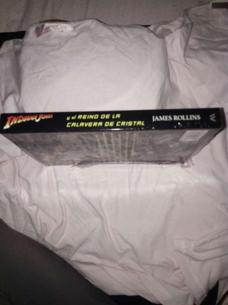 Imagen producto Libro de: indiana jones por janes rollins 4
