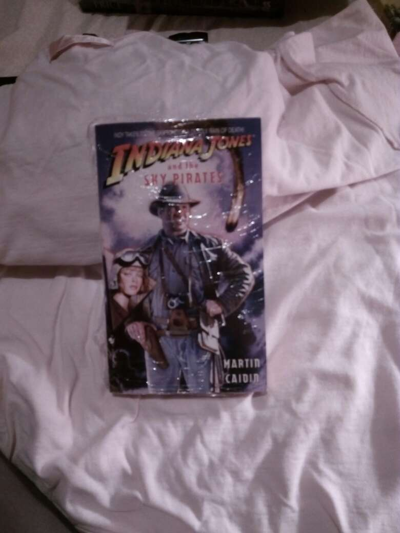 Imagen Libro de indiana jones and the sky pirates