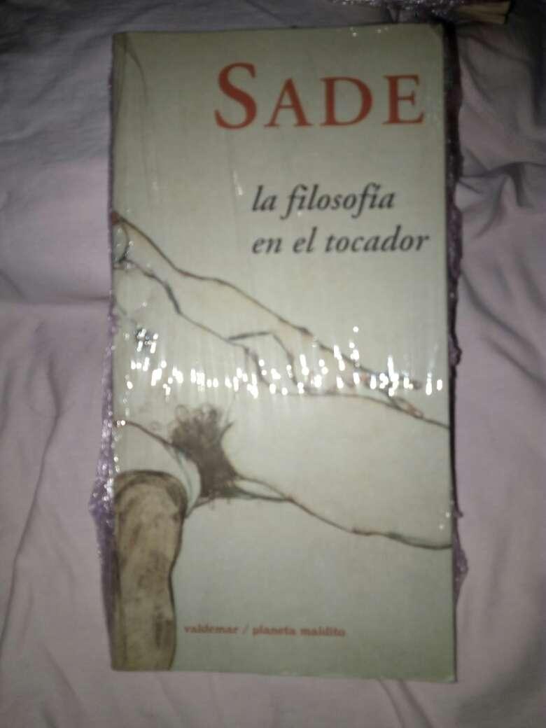 Imagen Libro de sade la filosofia en el tocador