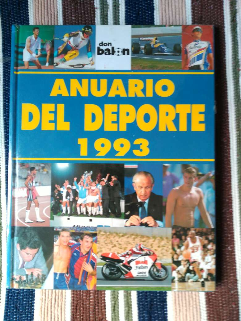 Imagen Anuario del deporte 1993 Don Balón