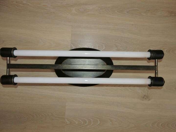 Imagen producto Lámpara fluorescente con dos barras al aire ¡OFERTA!! 2