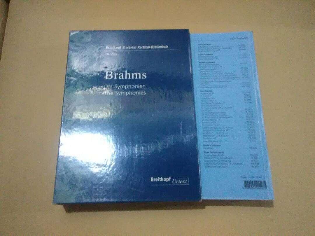Imagen producto Partitura Orquesta Full Score Sinfonías de Brahms 2