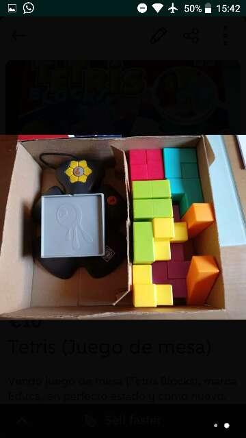 Imagen producto Juego de mesa (Tetris) 2