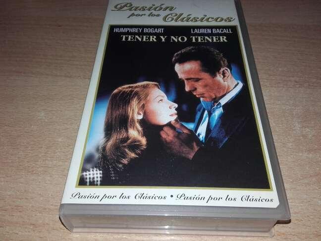 Imagen Tener y no tener ( VHS )