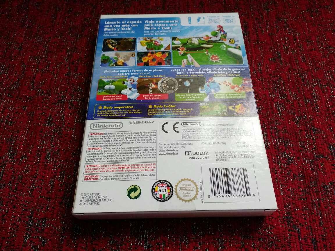 Imagen producto Super Mario galaxy 2, precintado 2