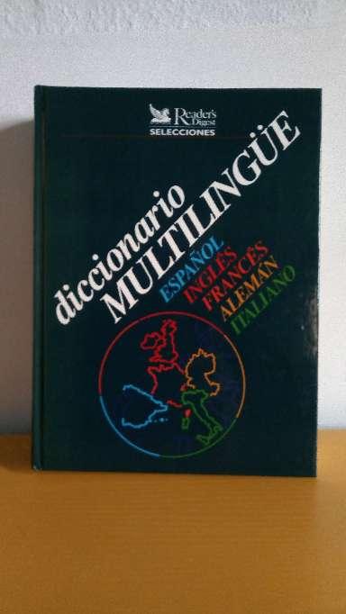 Imagen producto Diccionario Multilingue 1