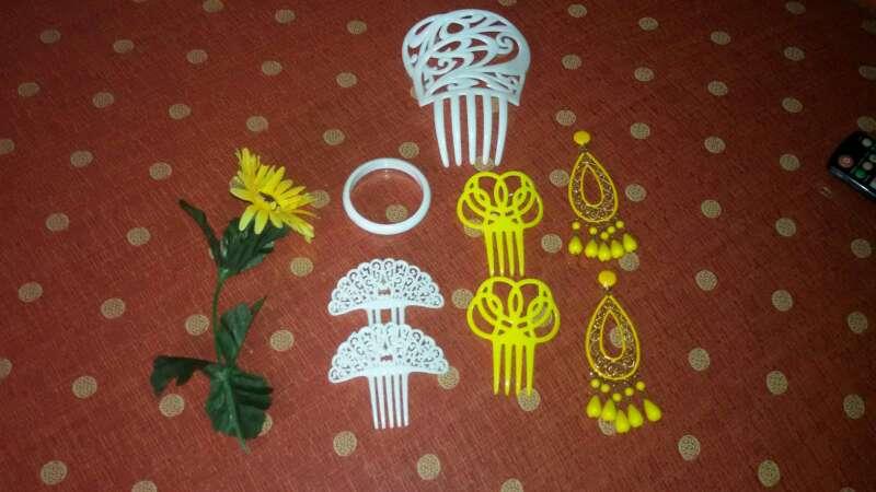 Imagen producto Traje de flamenca corto.  4